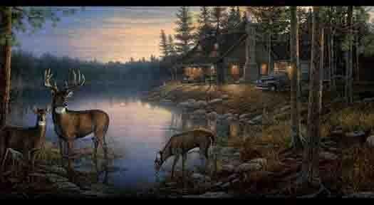wildlife scenes of hunting Duck Hunters Dream Wallpaper