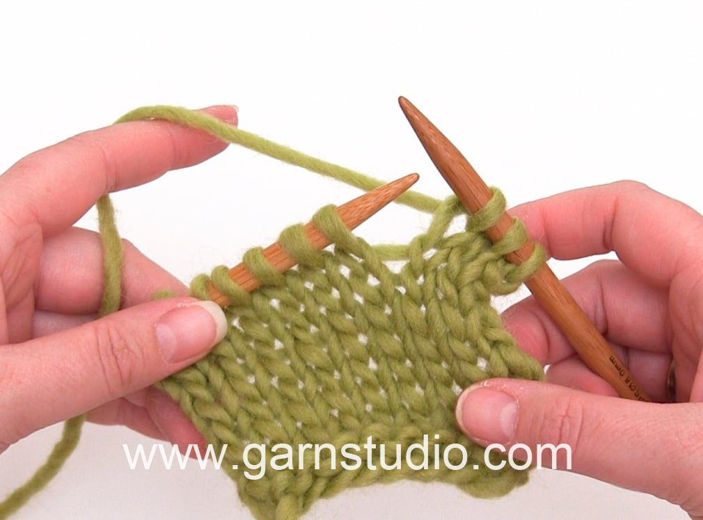 DROPS Knitting Tutorial: How to knit | Tricot | Pinterest | Muestras ...