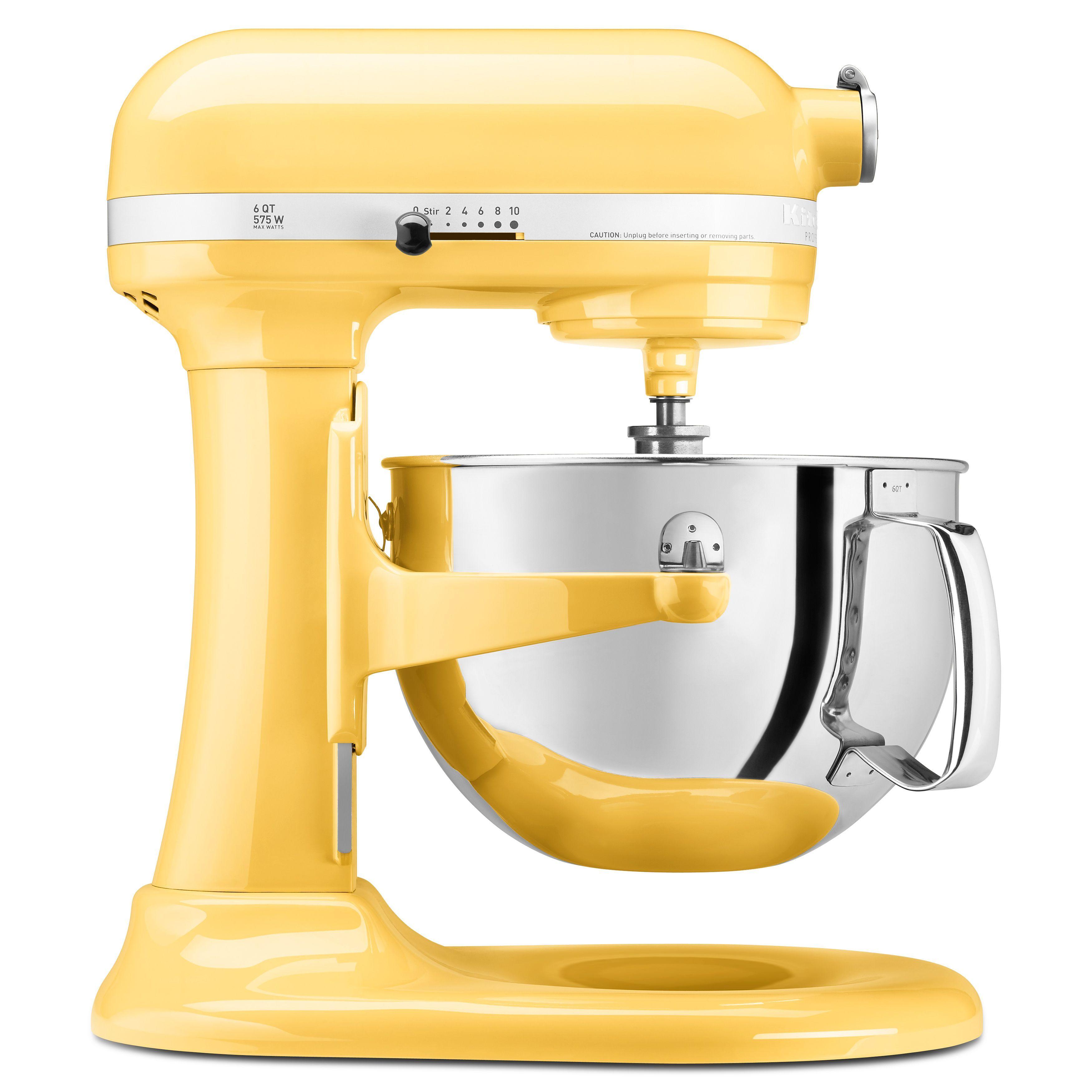 kitchenaid kp26m1xmy majestic 6 quart pro 600 bowl lift stand mixer rh za pinterest com