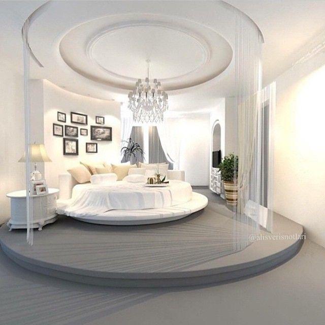 luxury home, luxury bedroom, grey design, modern design - Dream ...