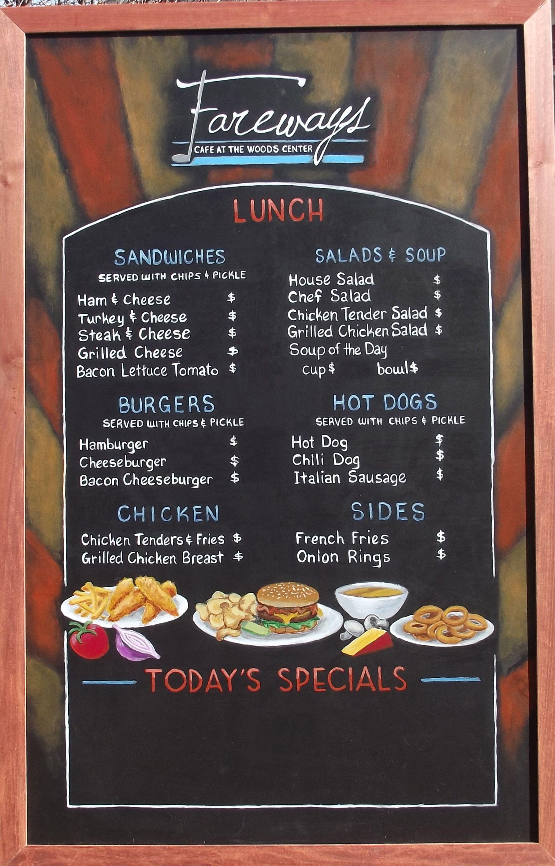 17 Best images about chalkboard menus on Pinterest | Breakfast ...