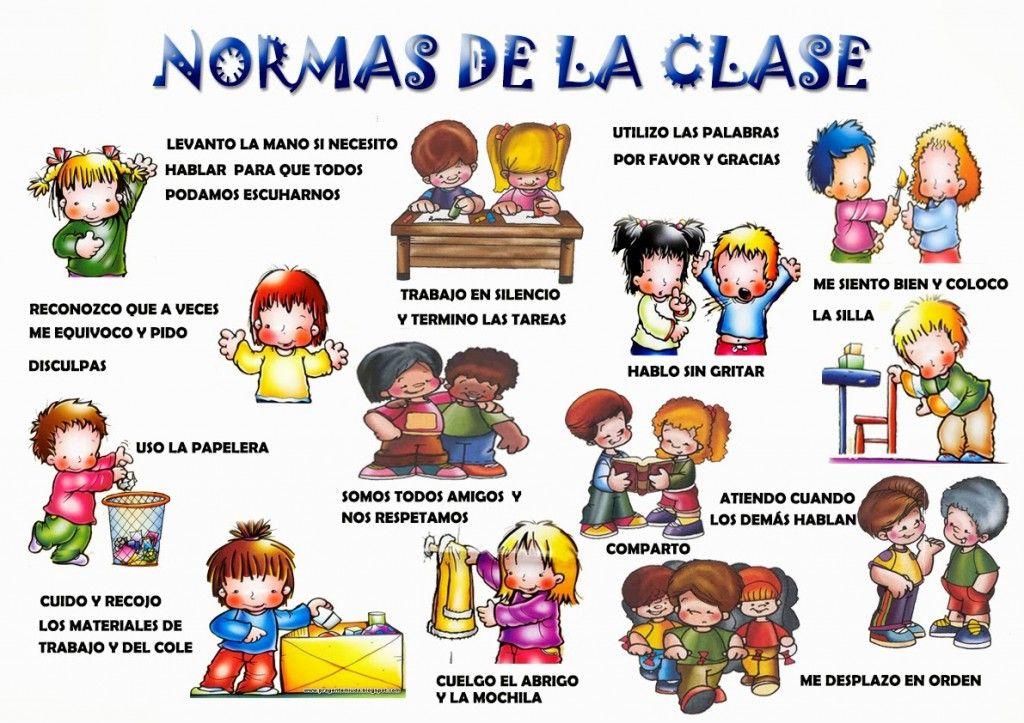 Carteles normas de aula dibujalia blog educaci n for Que oficina del inem me corresponde