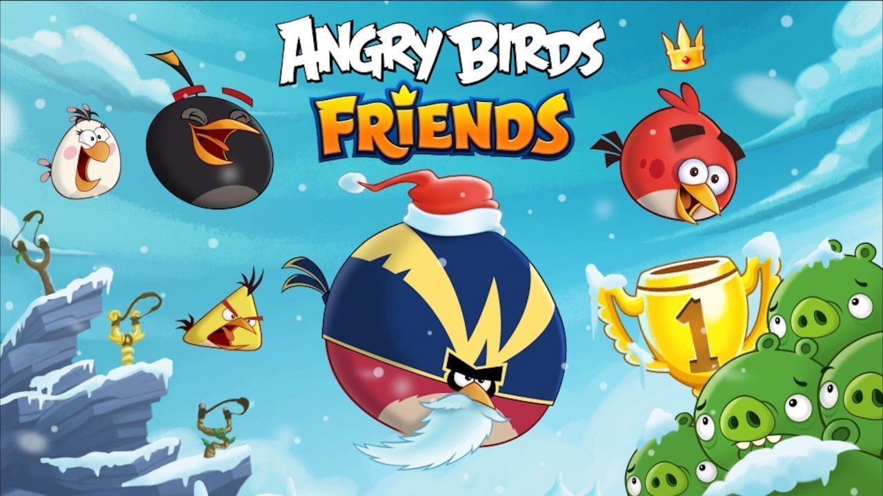 Angry Birds Friends Mod Apk Unlimited Coins Free Download With