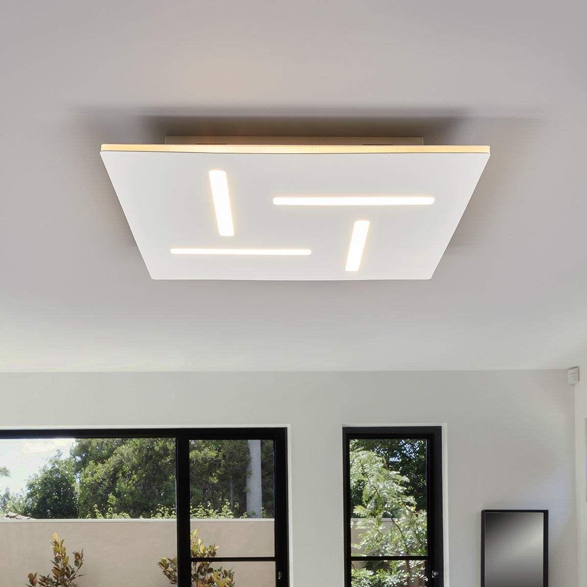 Moderne Deckenleuchte Von Lampenwelt Com Weiss Led Deckenlampen