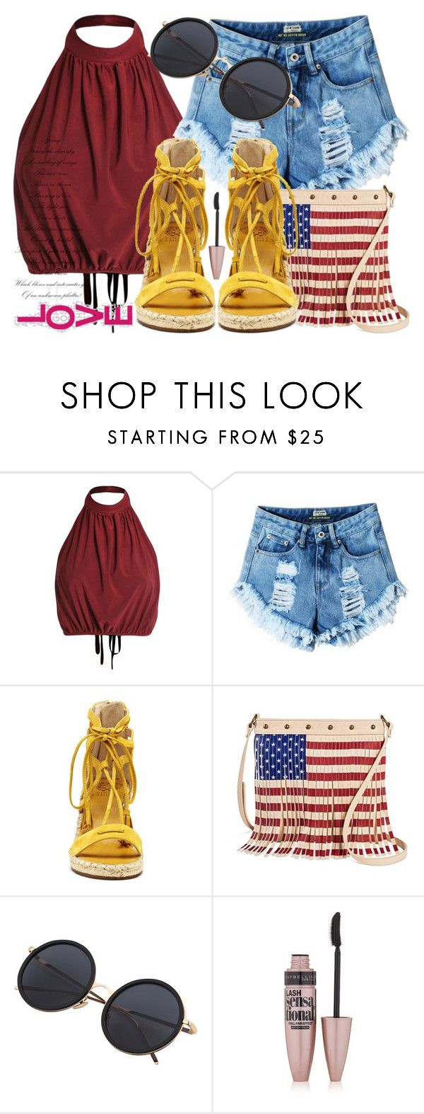 """Hot Weather ☀️✨"" by leonormoral on Polyvore featuring moda, Vince Camuto, TWIG & ARROW y Maybelline"