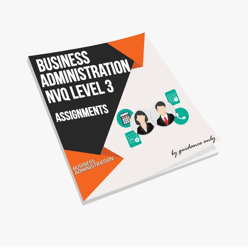Business  U0026 Administration Level 3 Nvq Assignments And More