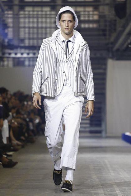 Moncler Gamme Bleu Menswear Spring Summer 2016 Milan - NOWFASHION