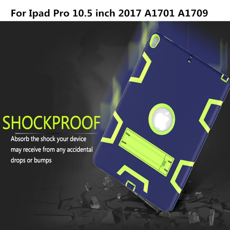 Case For Apple Ipad Pro 10 5 Inch A1701 A1709 Cover Hybrid Three