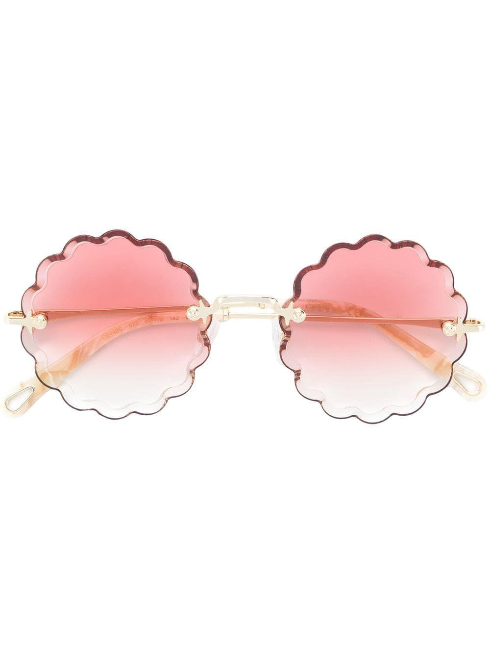 86816bd7cadd Chloé Eyewear Rosie flower shaped sunglasses - Multicolour in 2019 ...