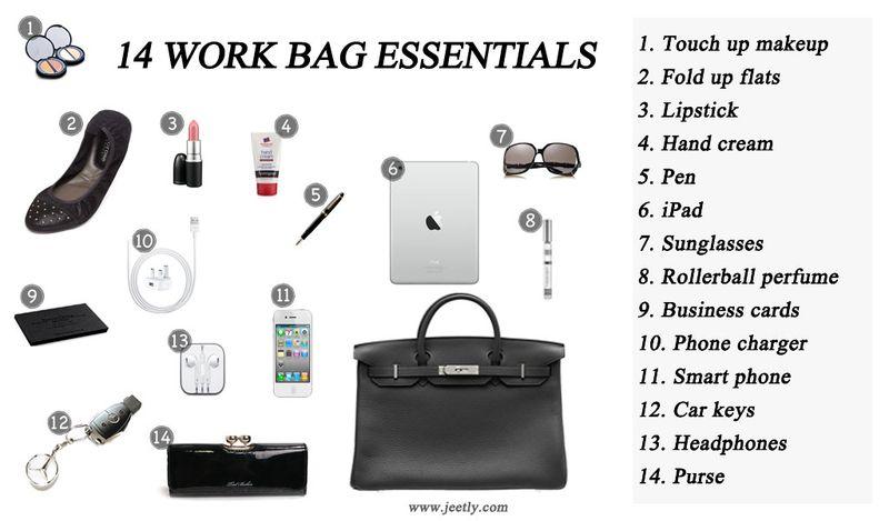 Work Bag Essentials For Women Work Bag Essentials Essential Bag