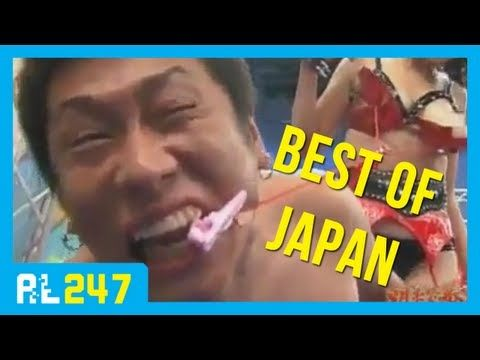Pilation Of Weird Funny Clips From Japanese Game Shows