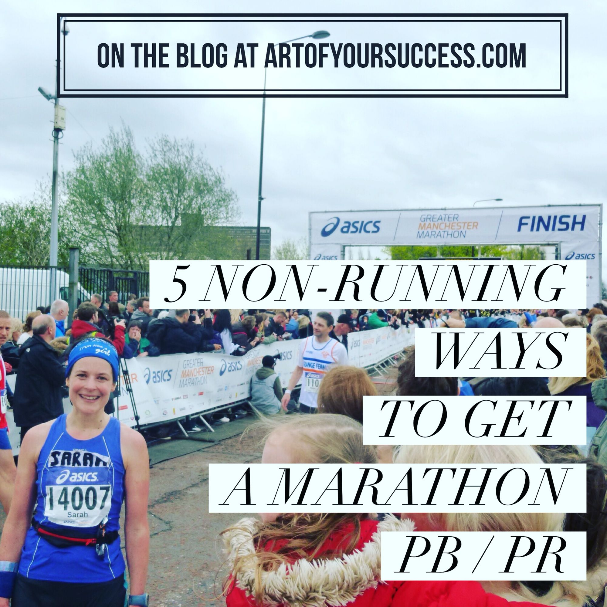 Spring marathons can seem a long way off right now.  Here are a few non-running tips to help you along the way to getting that PB / PR.