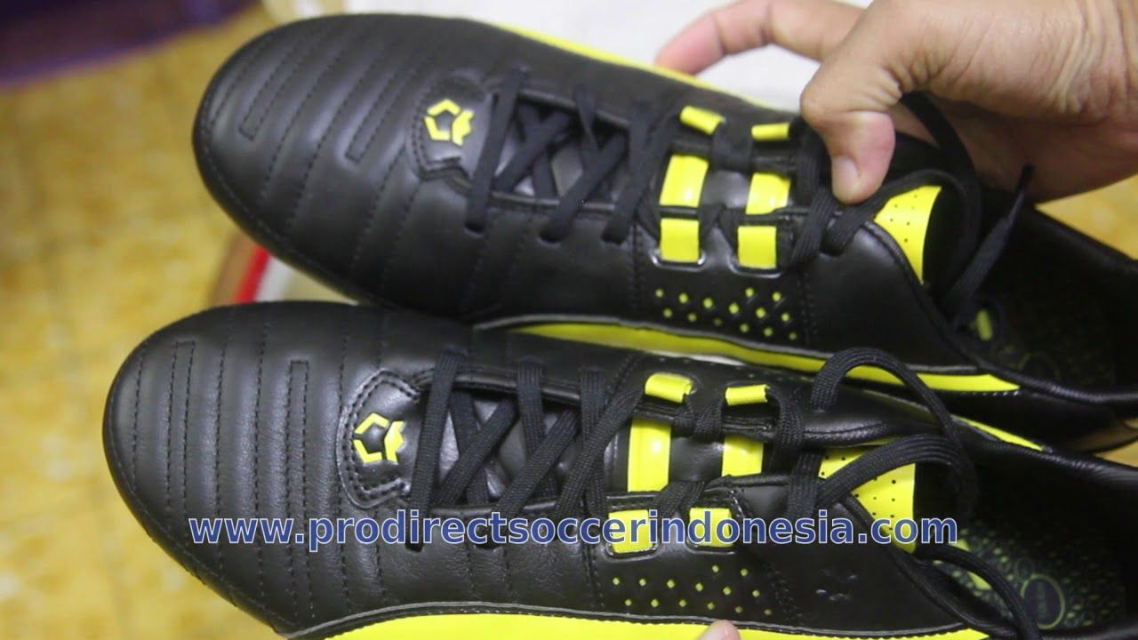 Sepatu Bola Puma King Ii Fg Black Vibrant Yellow 103147 11 Sepatu