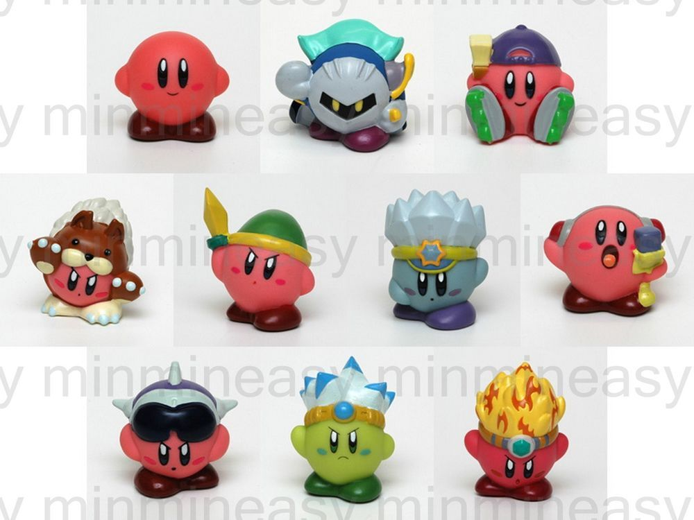 Nintendo Subarudo Wii KIRBY Metaknight Figure Fullset ~ # ...