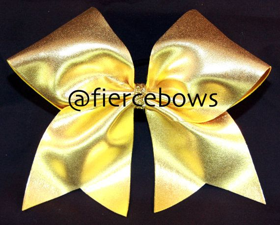 Cheer Bow by MyFierceBows on Etsy, $10.00