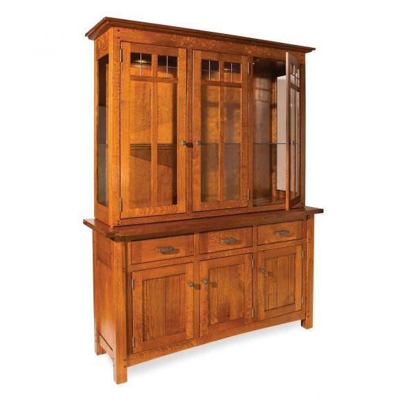 Delightful Brunswick China Cabinet | Shaker Mission Dining Hutches | Clear Creek Amish  Furniture