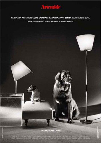 La Luce Di Artemide Come Cambiare Illuminazione Senza Cambiari Le Luci Thehumanlight By Artemide Adv Campaign 2002 Ph Elliott Erwitt Illuminazione Lamps