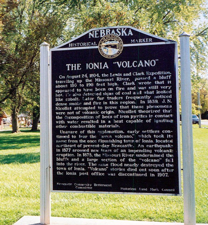 Today, a marker commemorating this weird part of Nebraska history stands in Pfister Park in Newcastle.