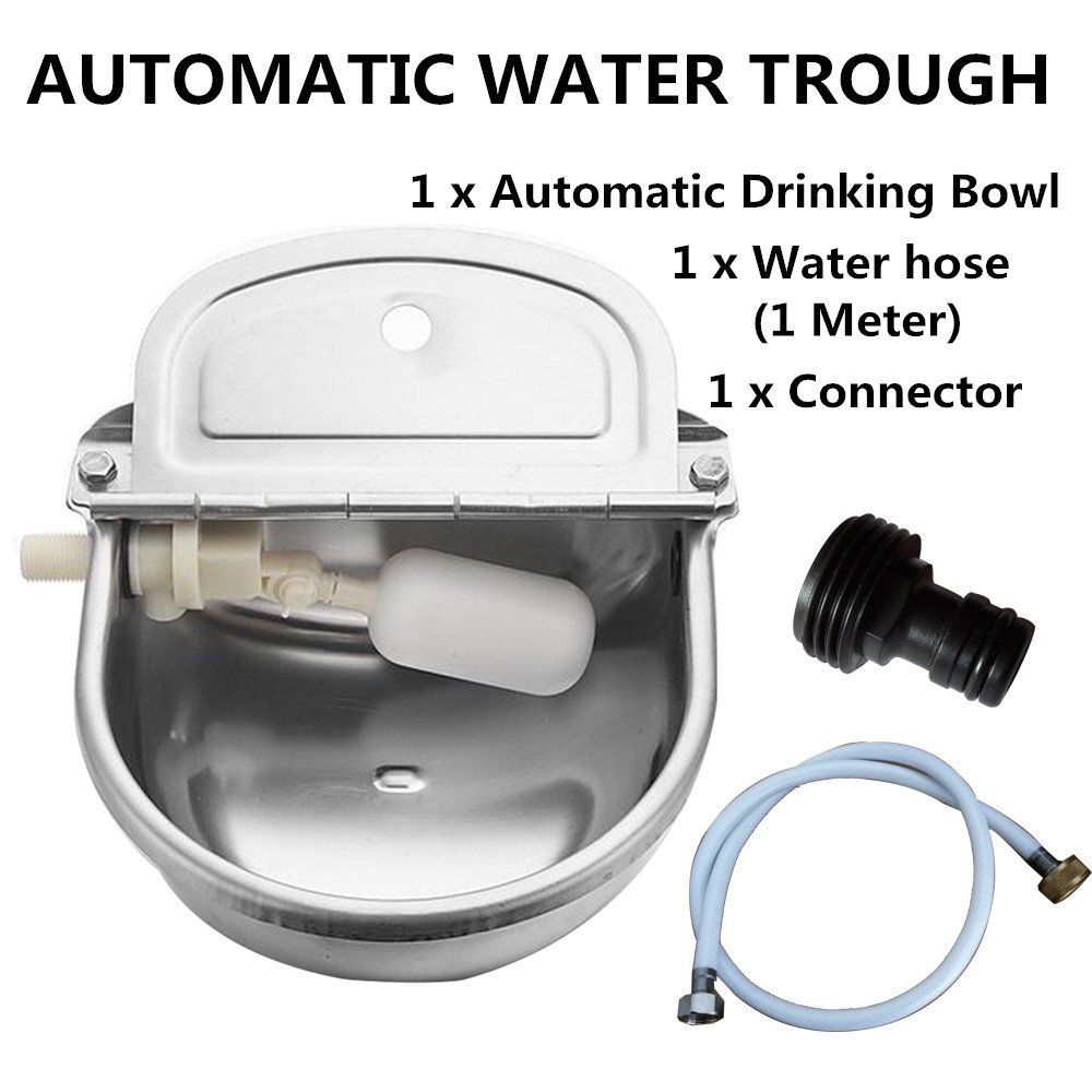 Automatic Water Trough Stainless Steel Bowl Auto For Dog Horse Sheep With Water Hose Find Out More About Water Trough Dog Water Bowls Stainless Steel Bowl