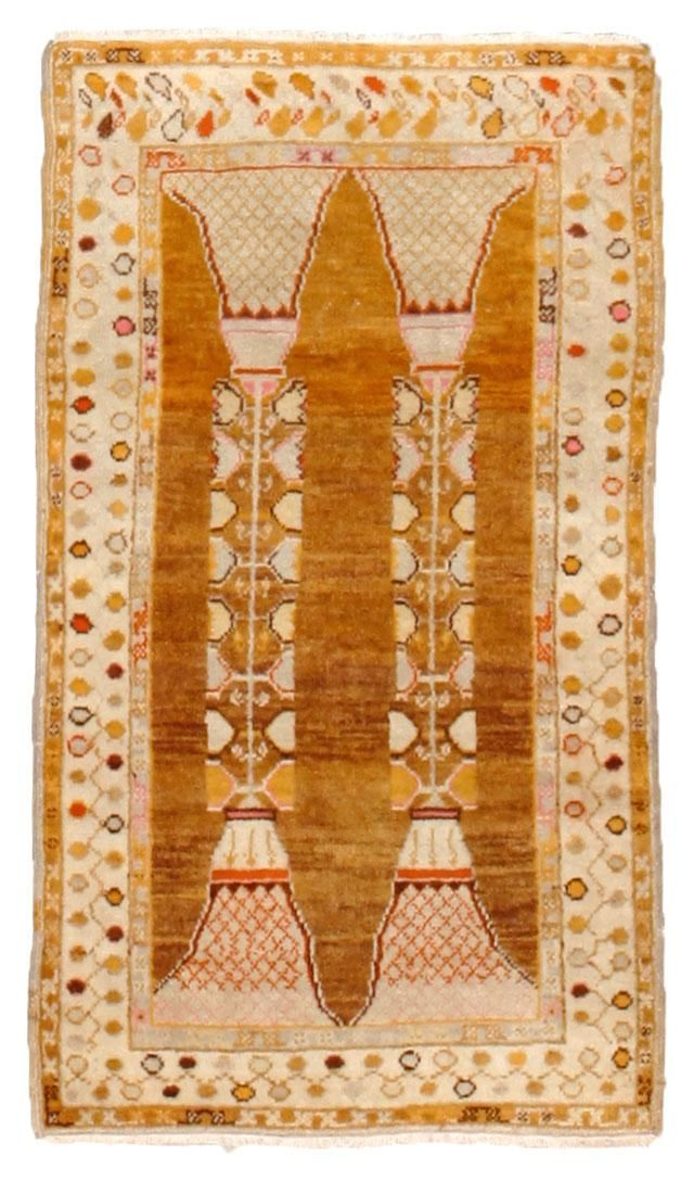 Antique Oushak Rugs (Turkish) Number 12820, Antique Turkish Rugs | Woven Accents