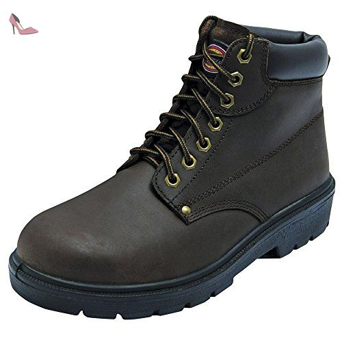 Dickies Grain DCK30-3700.03, Bottes homme - Noir black, 43 EU