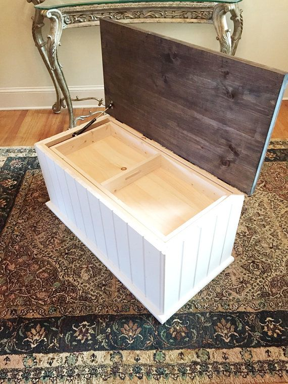 Large Toy Chest Toy Box Storage Trunk Wooden Trunk Hope Chest Wooden Toy Box White Toy Box Engraved Personalized Toy Box Large Toy Chest Wooden Toy Boxes White Toy Box
