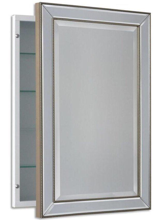 Goodman Beaded 16 X 26 Recessed Medicine Cabinet