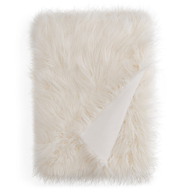 129.99$  Buy here - http://vidih.justgood.pw/vig/item.php?t=gjhax4z48711 - Hudson Park Collection Mongolian Faux Fur Throw - 100% Exclusive 129.99$