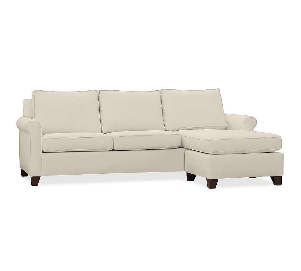 Amazing Cameron Roll Arm Upholstered Sofa With Reversible Chaise Unemploymentrelief Wooden Chair Designs For Living Room Unemploymentrelieforg
