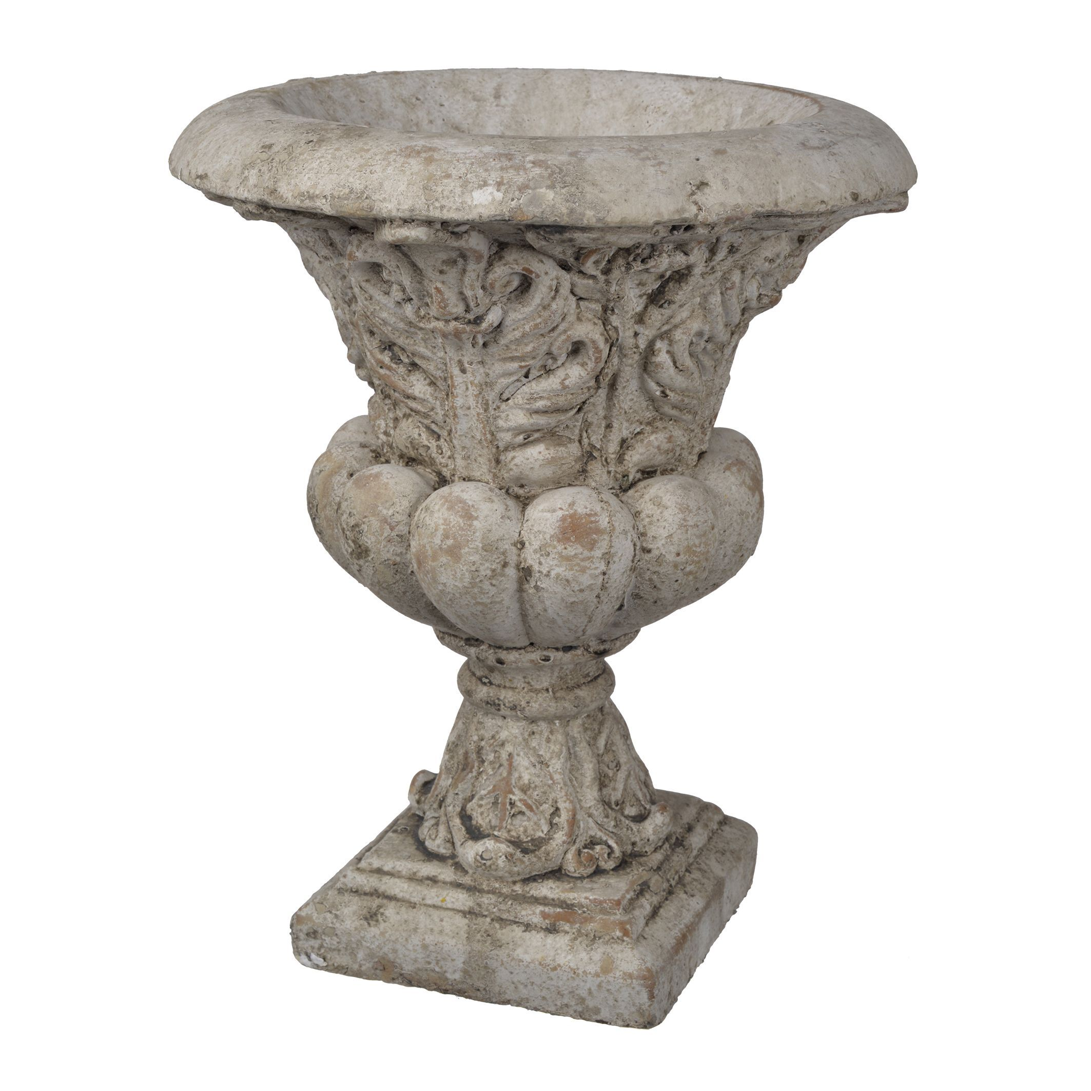 f white Beige Cement URN D10X12 URN A and B Home D1250