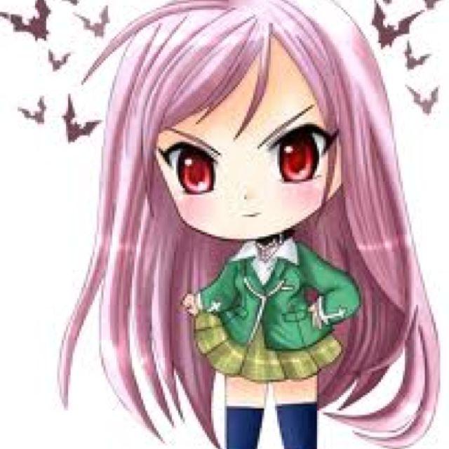 Inner moka akashiya from rosirio+ vampire