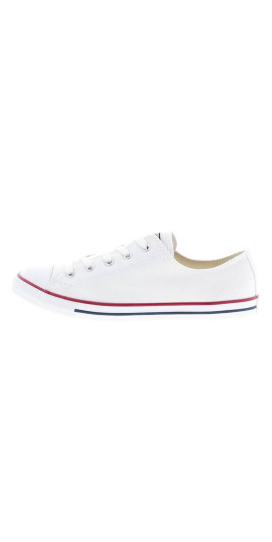 Converse. CHUCK TAYLOR ALL STAR DAINTY Sneaker low blanc