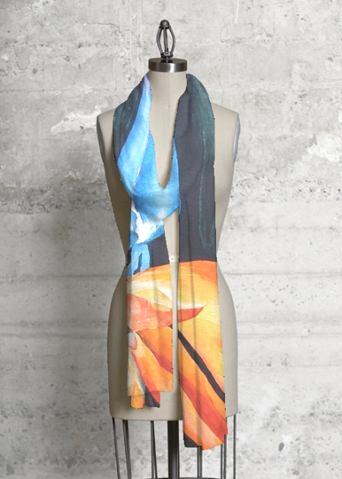 Modal Scarf - Those Roses by VIDA VIDA Kk3jO