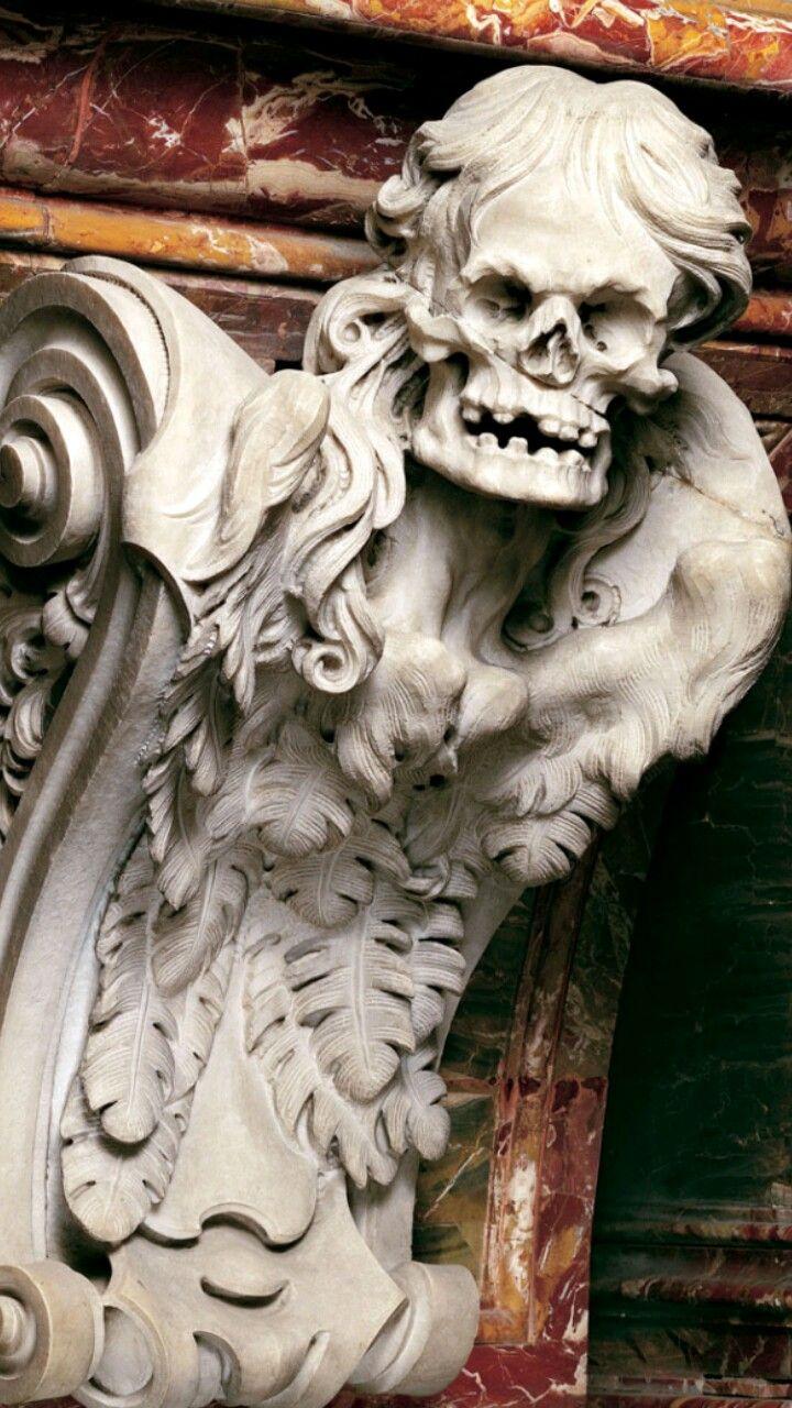Resultado de imagem para estatua macabra
