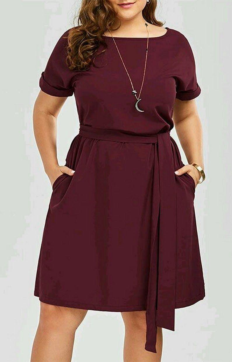 Pin De Pilar Fernandez En Plus Size Moda En 2019 Vestidos