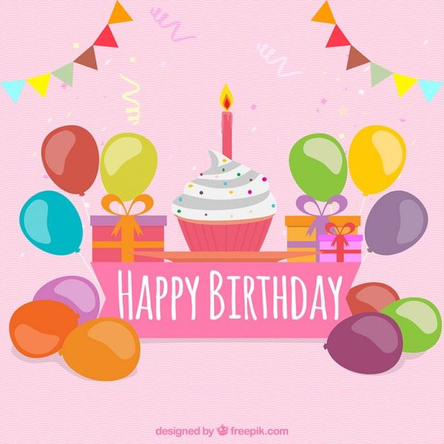 Colorful birthday greeting card free vector wishing you a hbd colorful birthday greeting card free vector bookmarktalkfo Image collections