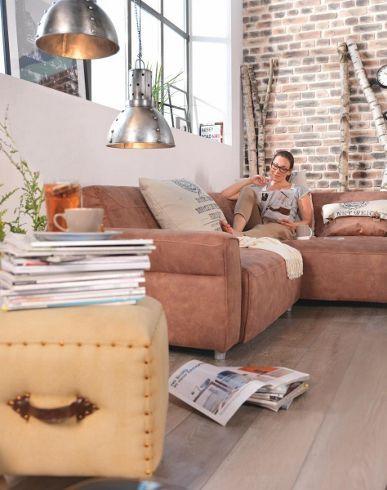 Wohnlandschaft Vito Sofas Produkte Natural Loft Pinterest