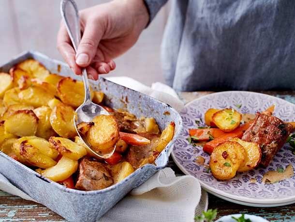 Photo of Filet potty under the potato topping Recipe DELICIOUS