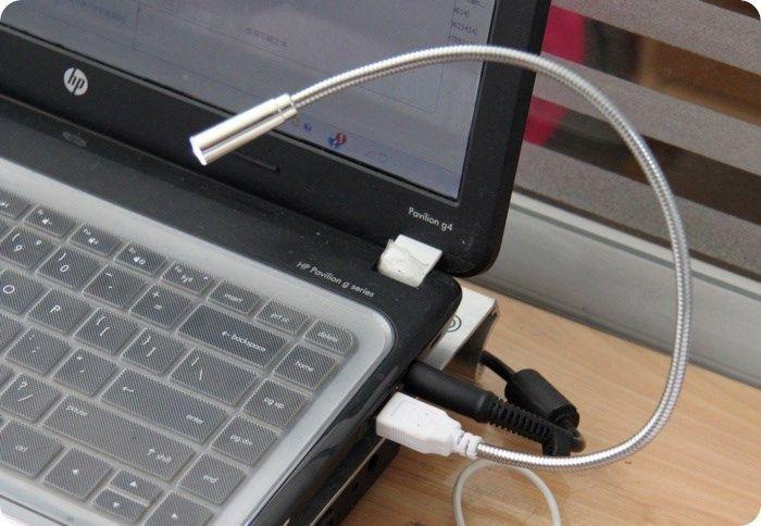 Flexible Portable Gadget Lampe Lampara Luz Led Usb Lamp White Light