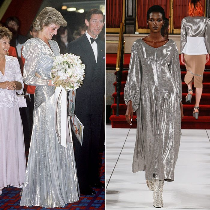 How Princess Diana's style ruled the spring runways