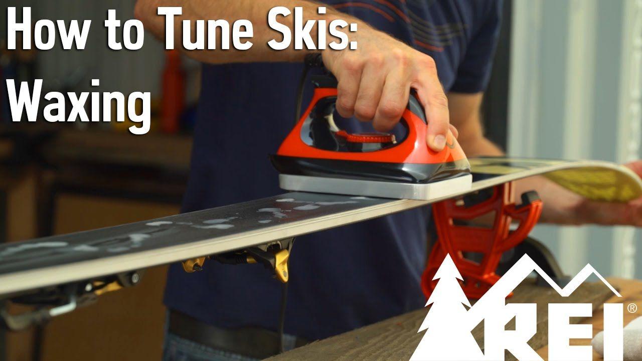 How To Tune Skis 3 Waxing Skiing Nordic Skiing Wax