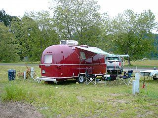 Airstream For Sale Bc >> very pretty bright red argosy | Vintage campers trailers ...