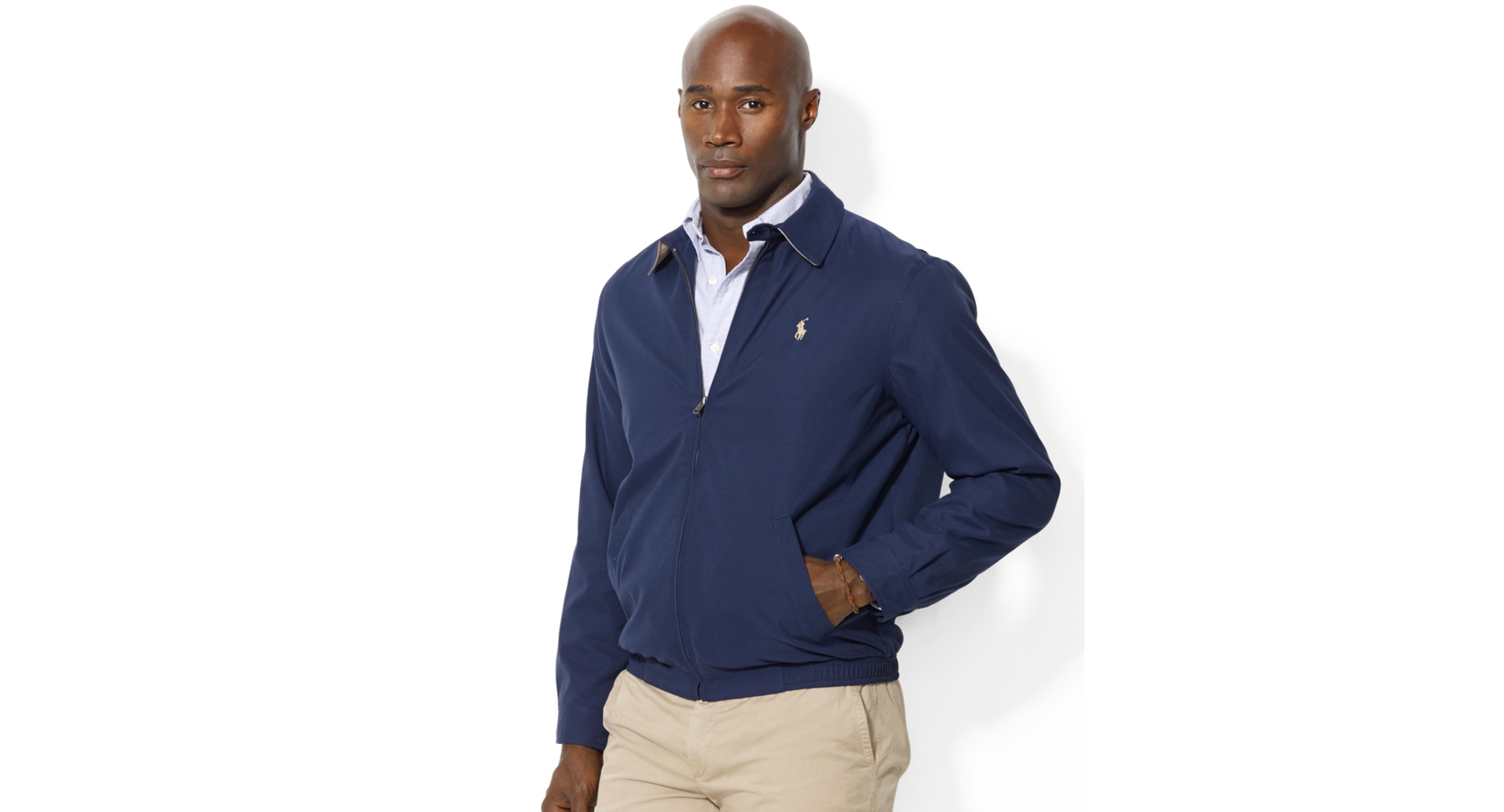 ab1f646bacaf6c Men's Big and Tall Jackets, Bi-Swing Windbreaker | Products | Polo ...