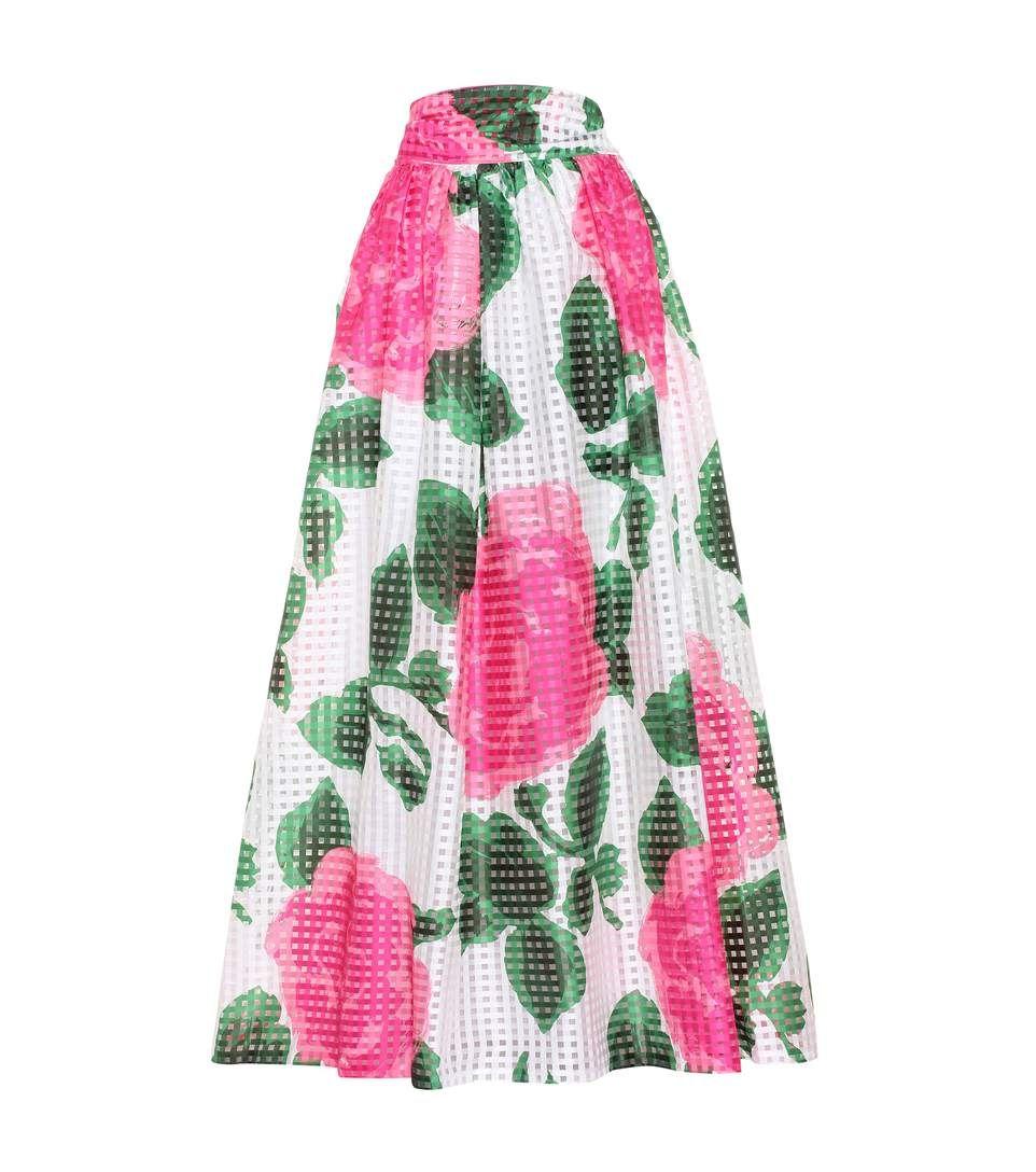 4744021951 TORY BURCH Daniella Printed Maxi Skirt. #toryburch #cloth #skirts ...