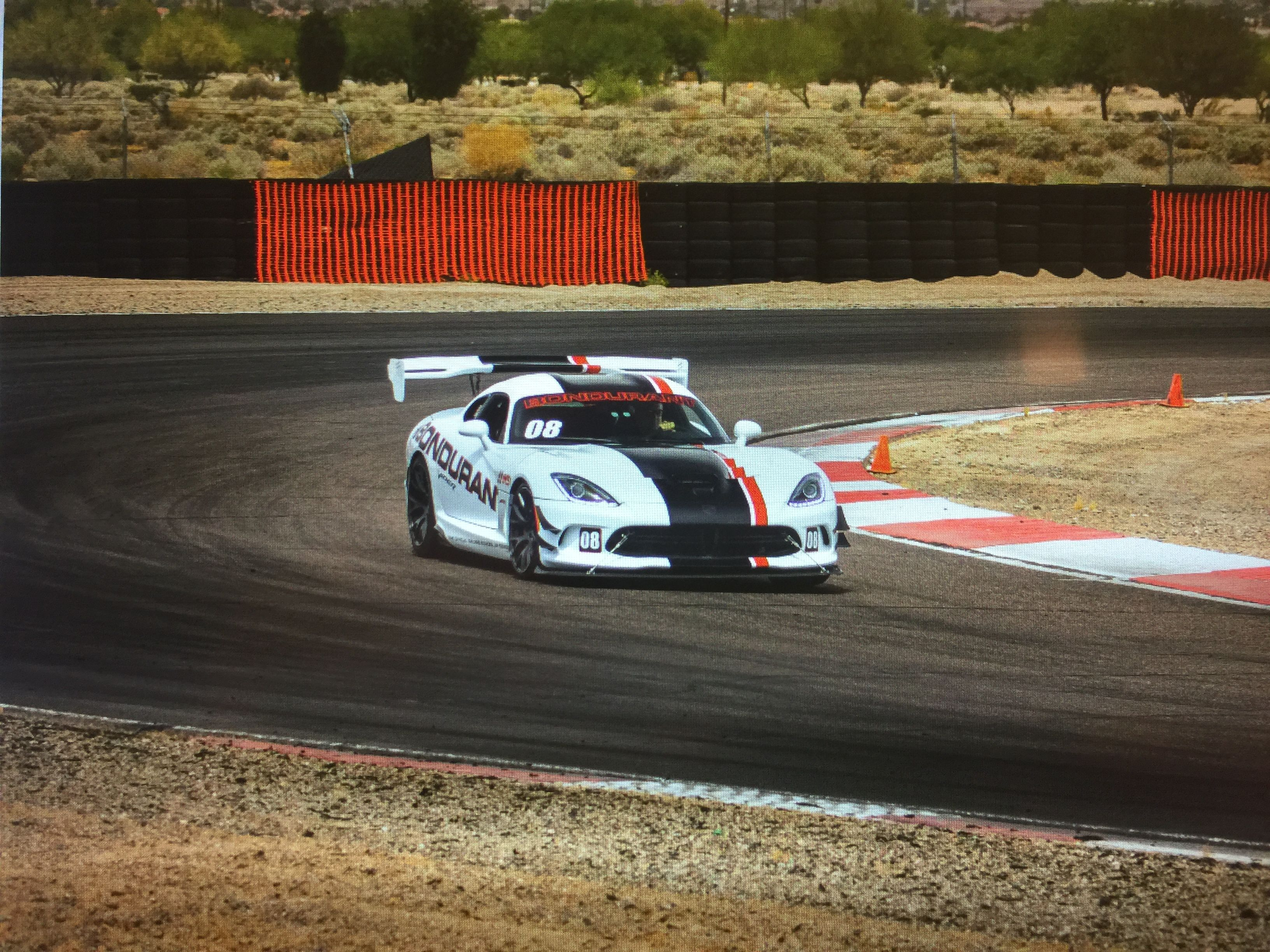 Dr Michael Lange Turning One Of The Fastest Lap Times Of The Day