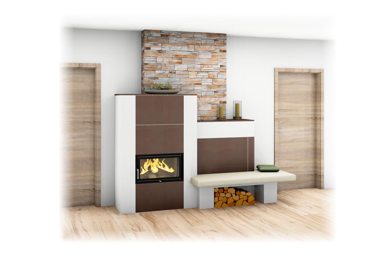 steinwand wohnzimmer ofen blockhausimpressionen fen und herde scandinavian bloghaus. Black Bedroom Furniture Sets. Home Design Ideas