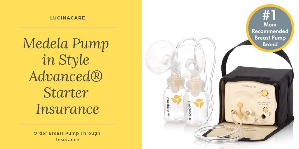 Medela Pump In Style Advanced Starter Insurance Medela Pump In