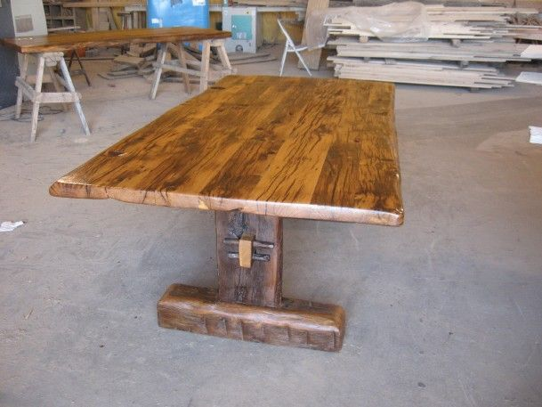 Superior ➤Rustic Trestle Table Plans 8 Rustic Farmhouse Table Plans By  Antiquewoodworks.com