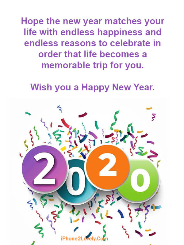 50 Short Happy New Year 2020 Messages In 140 Characters Words