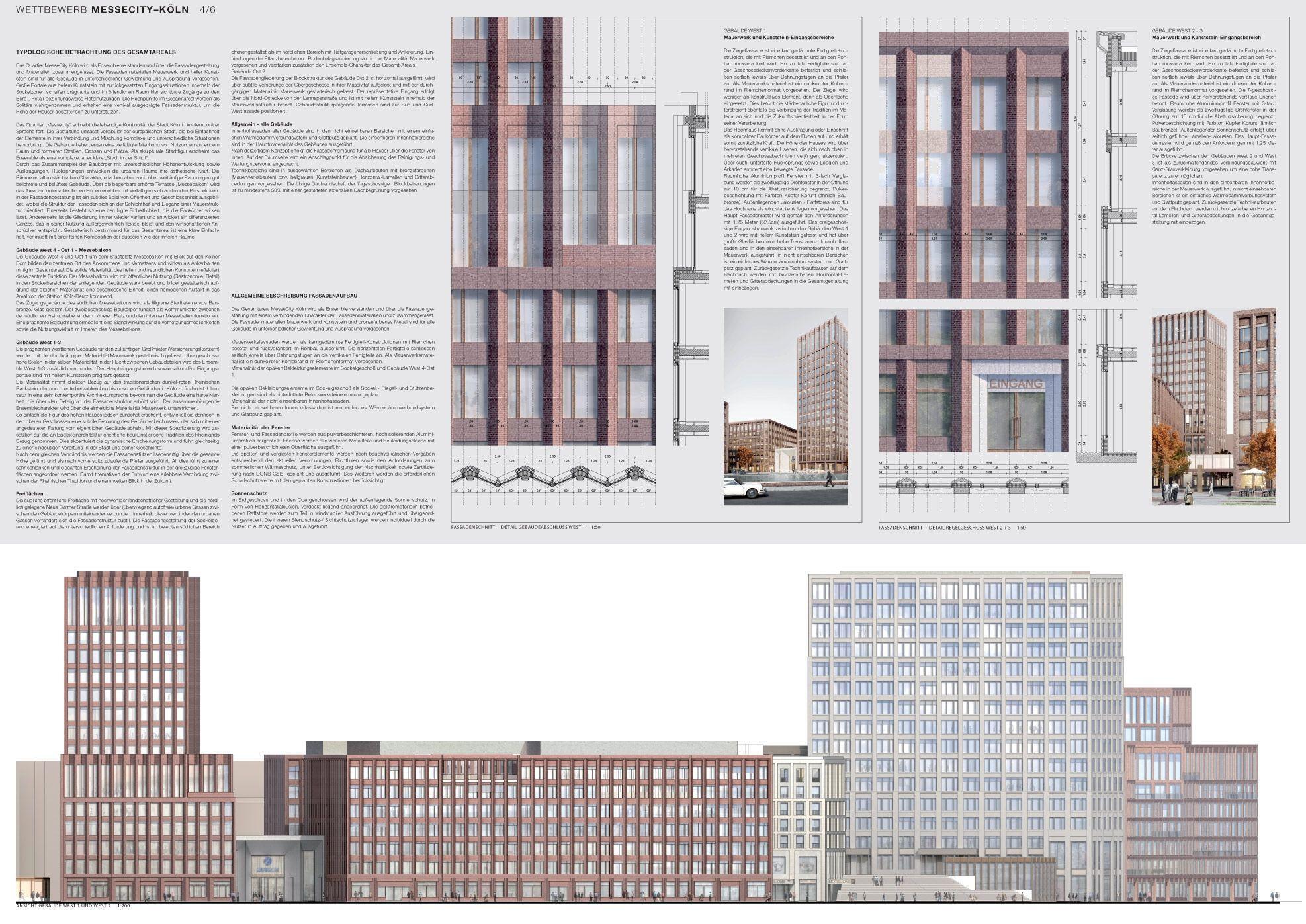Sieger Hochhaus C Max Dudler Strabag Real Estate Ece Architecture Skyscraper Real Estate